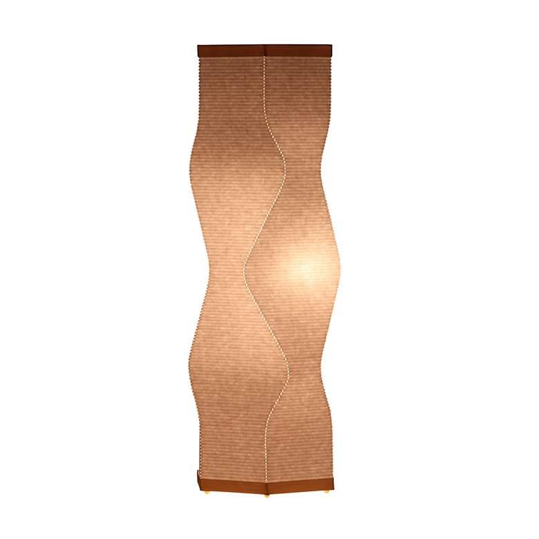 Roland Simmons Lumalight Angle Natural White Table Lamp