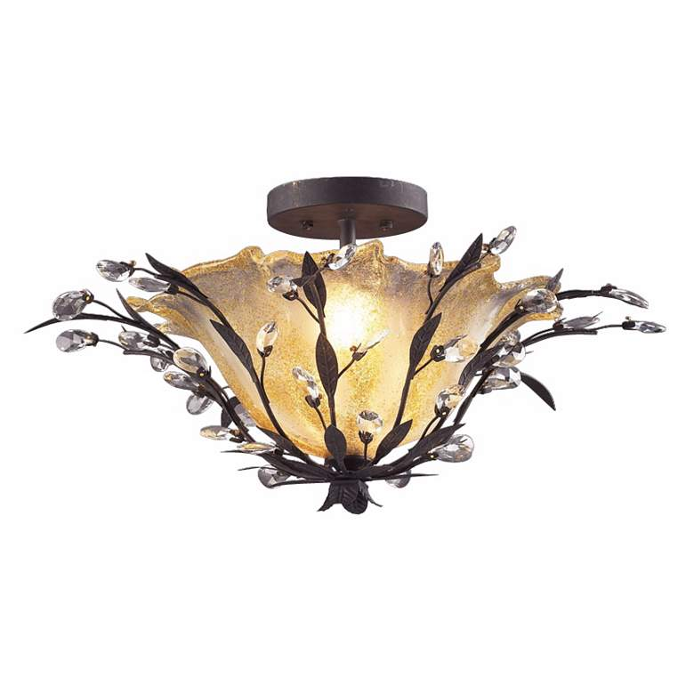 """Circeo Collection 24"""" Wide Ceiling Light Fixture"""