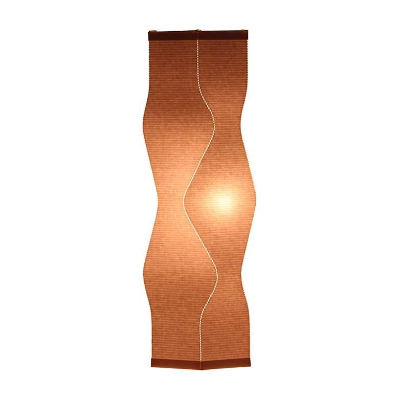 Roland Simmons Lumalight Angle Stone Beige Table Lamp