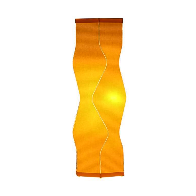 Roland Simmons Lumalight Angle Canary Yellow Table Lamp