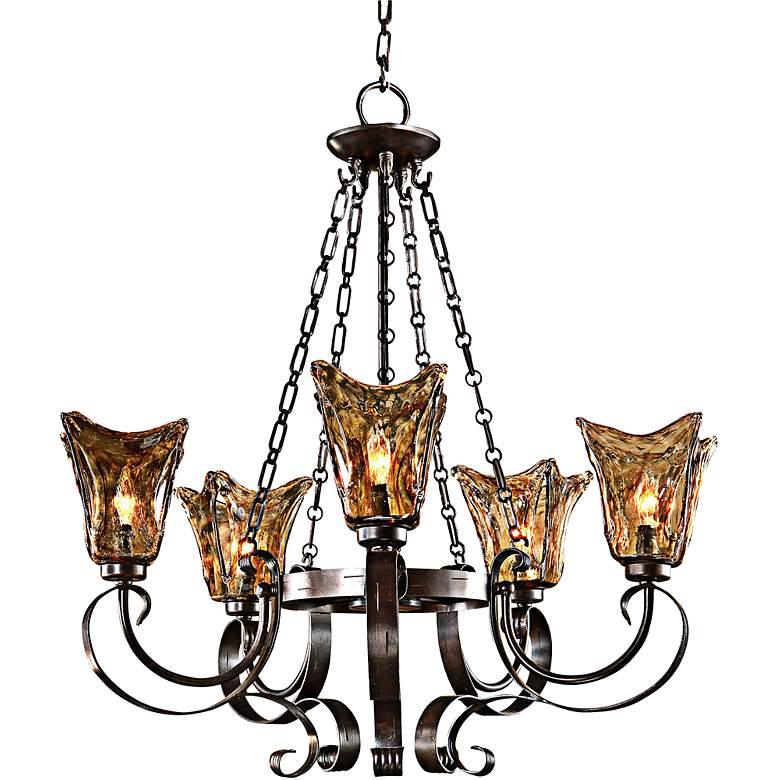 Uttermost Vetraio Collection 5-Light Chandelier