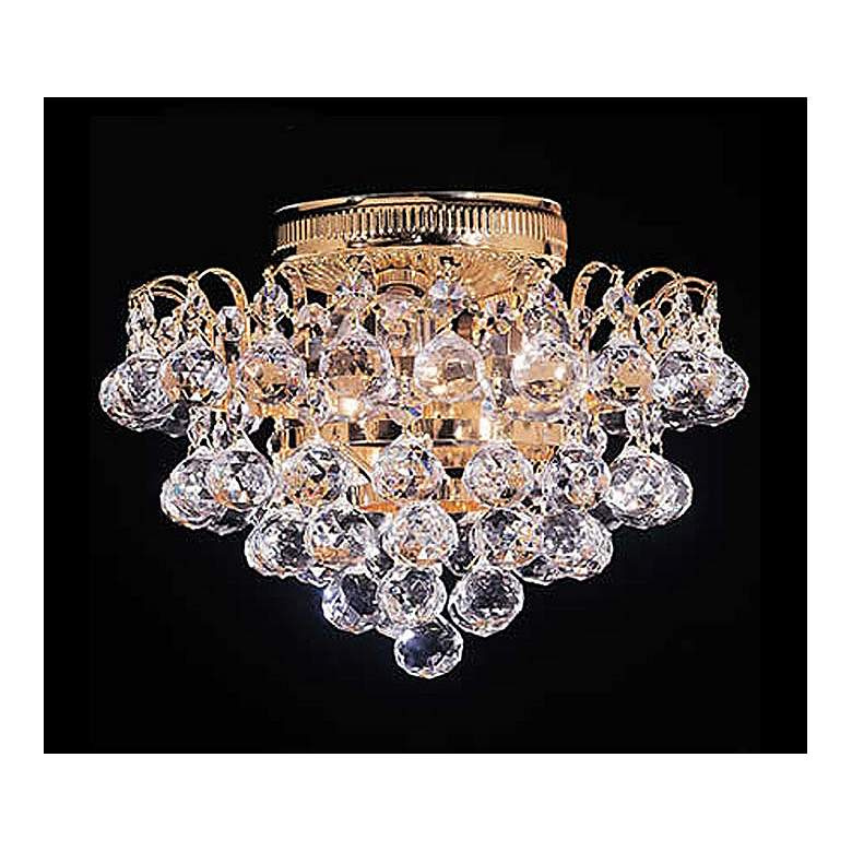 """James R. Moder Mardella Collection 11"""" Wide Ceiling Light"""