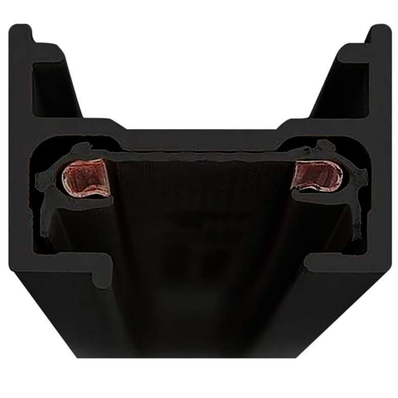 Lightolier Lytespan Basic 4' Black Single Circuit Track