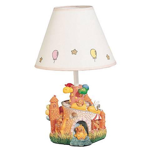 "Children's Carnival Park 14 1/2""H Fun Accent Table Lamp"