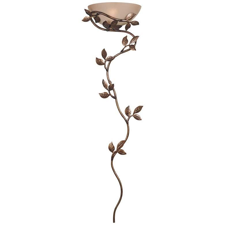 "Kenroy Home 53"" High Flower and Vine Wallchiere Light"