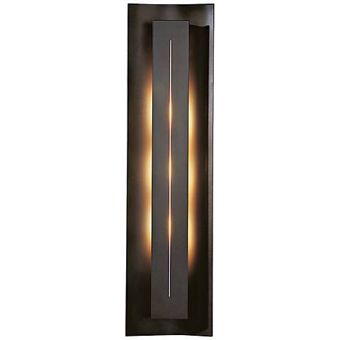 """Gallery Collection Ivory Glass 27 1/4"""" High Wall Sconce"""