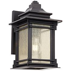 """Franklin Iron Works™ Hickory Point 12"""" High Outdoor Light"""
