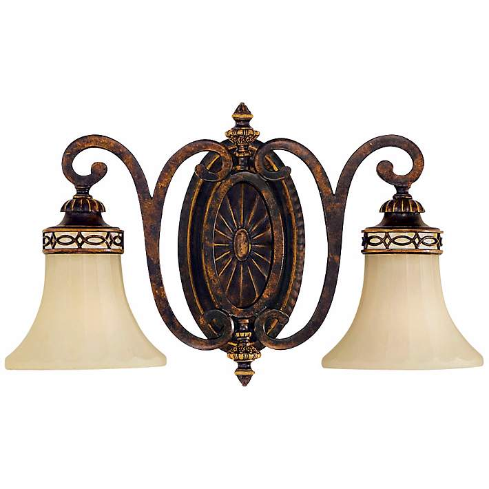 Feiss Edwardian Collection 18 Wide Bathroom Light Fixture