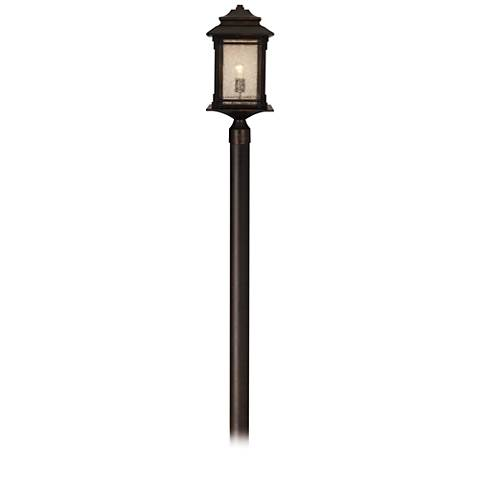 "Hickory Point Bronze 104"" High Direct Burial Post Light"