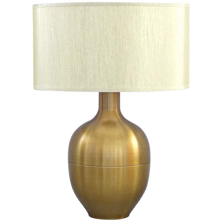 Babette Holland Rubianne Gold Accent Table Lamp