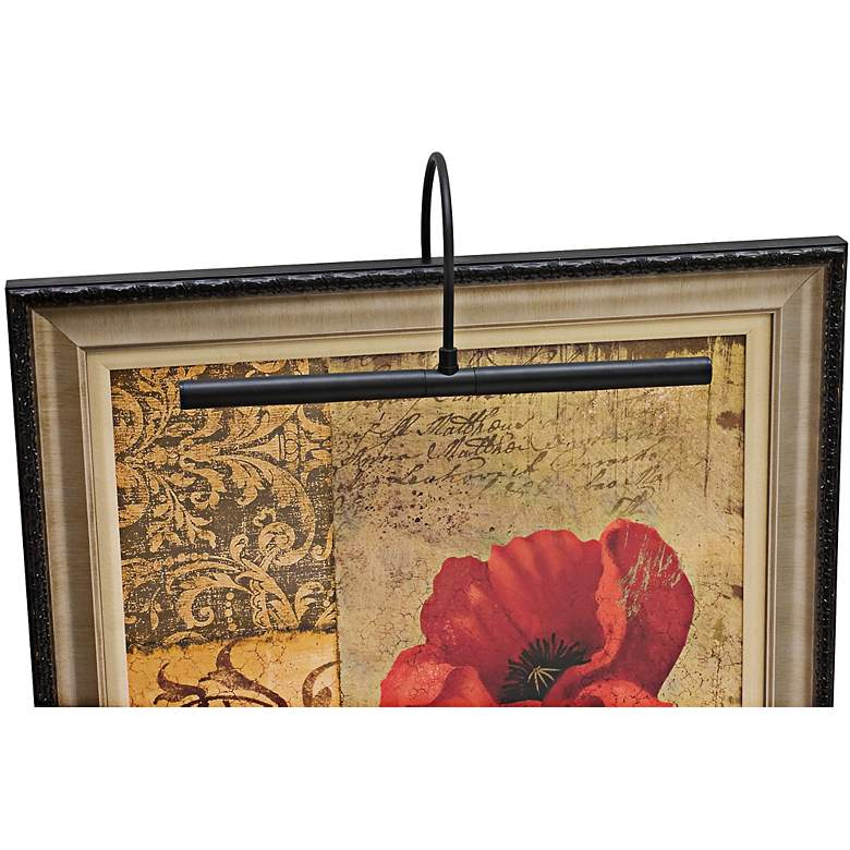 """House of Troy 16"""" Wide Advent Profile Black"""