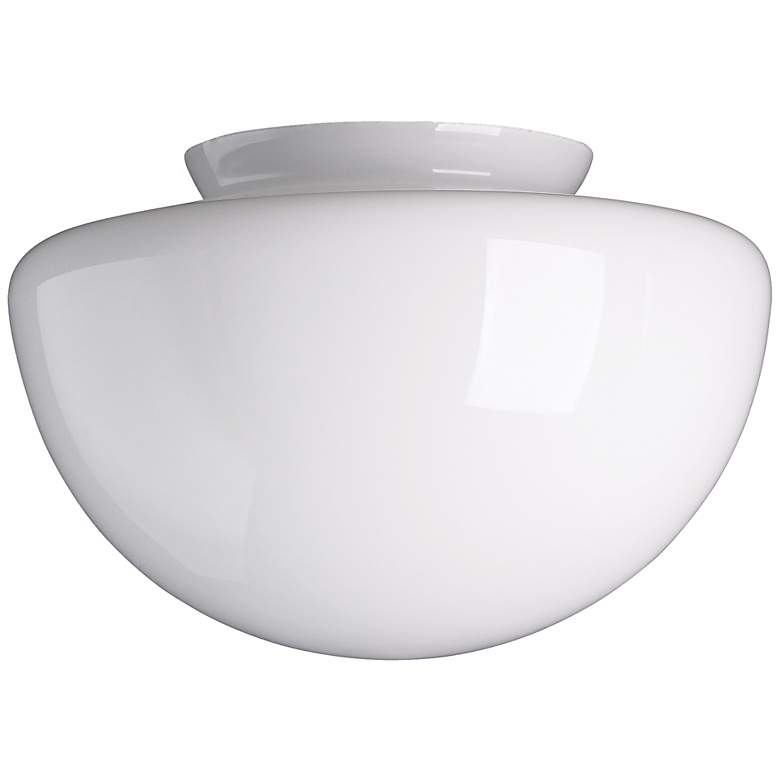 """4"""" Fitter Squashball Frosted Glass Shade"""