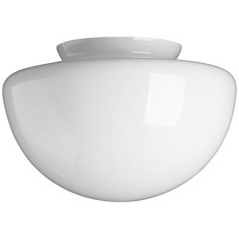 "4"" Fitter Squashball Frosted Glass Shade"