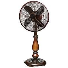 12 Sutter Bronze Tabletop Fan