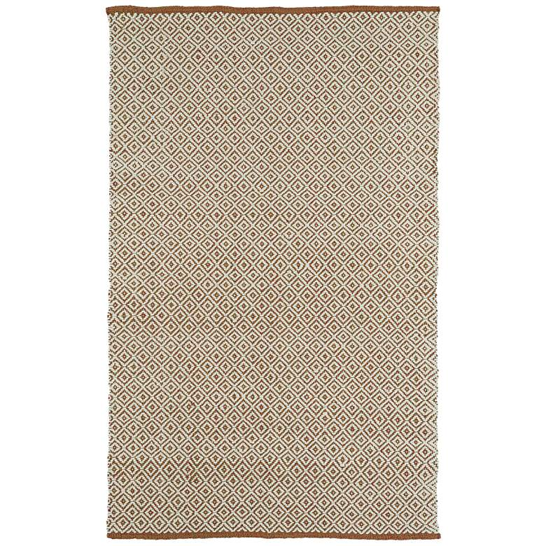 Kaleen Colinas Cream and Tan Wool And Jute