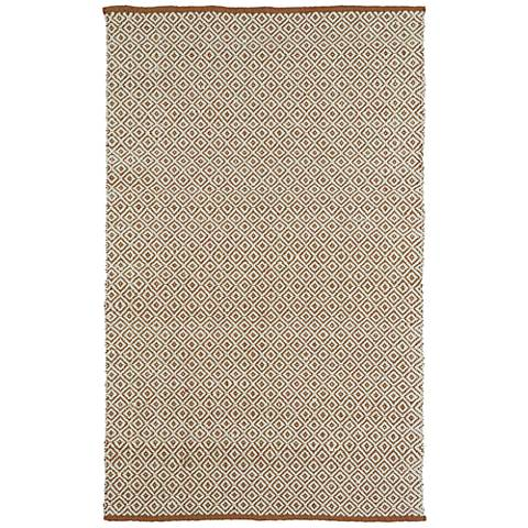 Kaleen Colinas Cream and Tan Wool And Jute Rug
