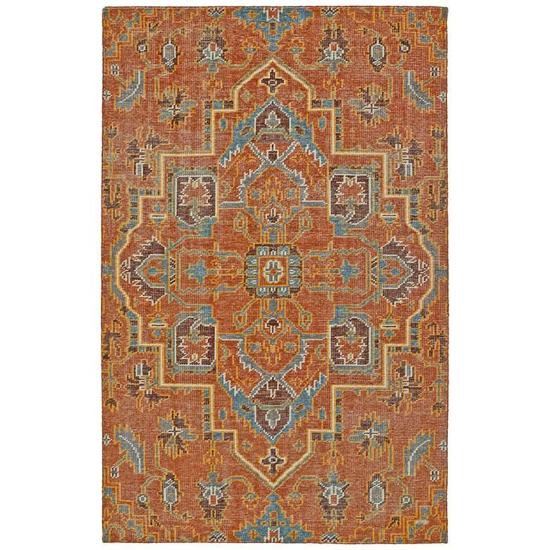 Kaleen Relic Paprika RLC01-53 5'x8' Wool Area Rug