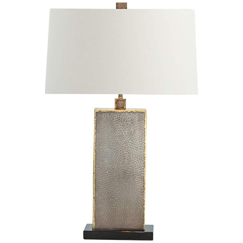 Arteriors Home Graham Reptile Skin Iron Table Lamp
