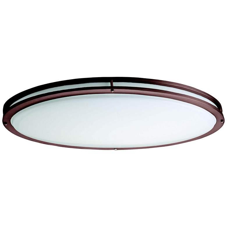 "Bronze Oval 32 1/2"" Wide 4707 Lumen LED Ceiling Light"