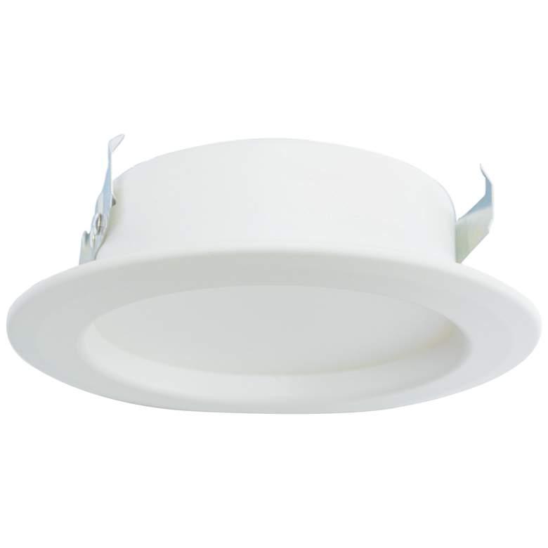 "4"" Plain White 11 Watt Dimmable LED Retrofit Trim"