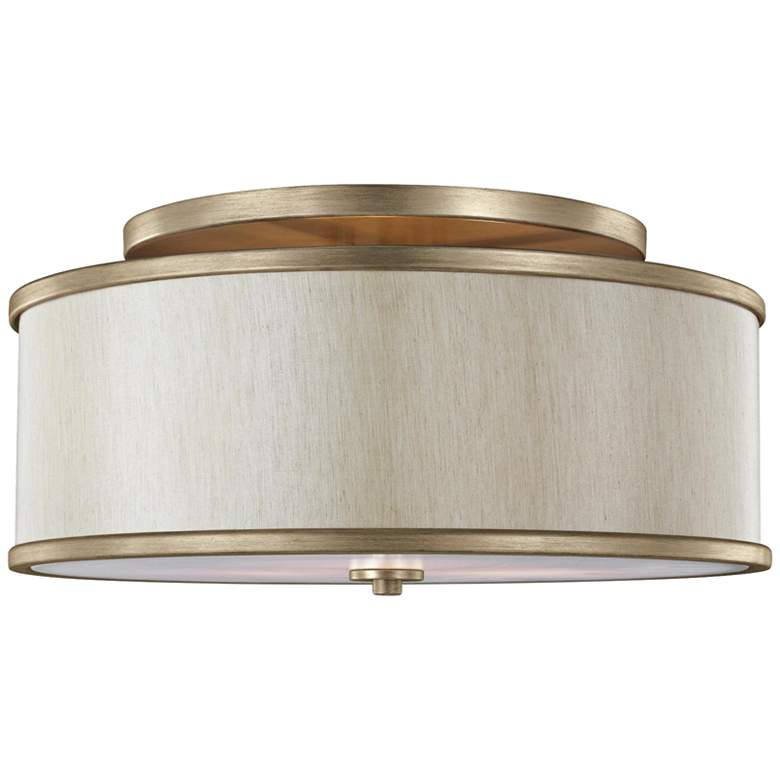 "Feiss Lennon 20"" Wide Sunset Gold Ceiling Light"