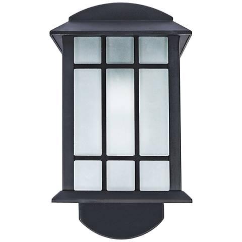 Craftsman Companion Black Outdoor Smart Security Light