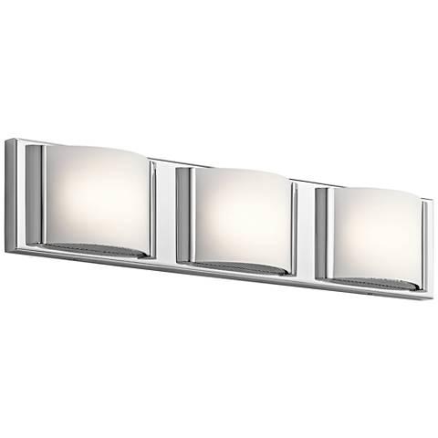 "Elan Bretto 22 1/2"" Wide Chrome LED Bath Light"