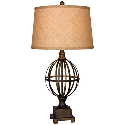 Fell Bronze Metal Table Lamp
