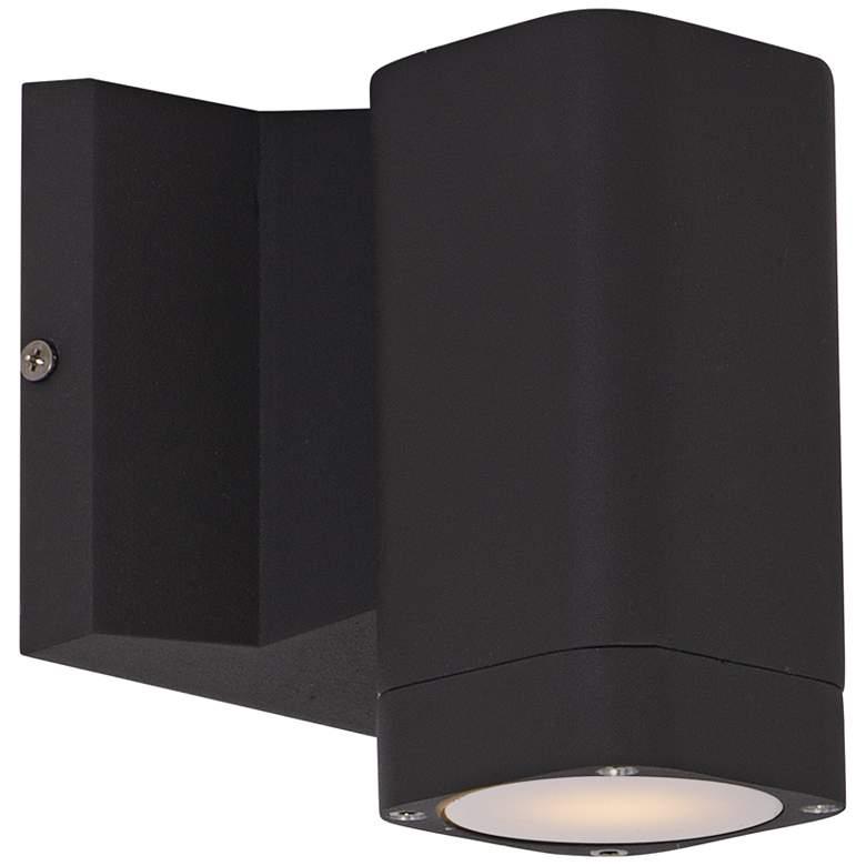 "Lightray 5 1/4""H Rectangular Bronze LED Outdoor Wall Light"