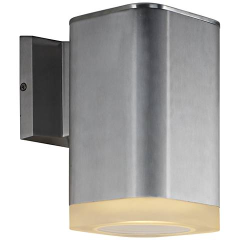 "Maxim Lightray 8 1/4""H Square LED Outdoor Wall Light"