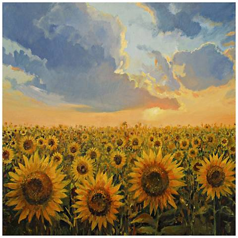 "Sun And Sun 24"" Square All-Season Indoor-Outdoor Wall Art"