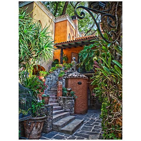 "Casa Courtyard 40""H All-Weather Indoor-Outdoor Wall Art"
