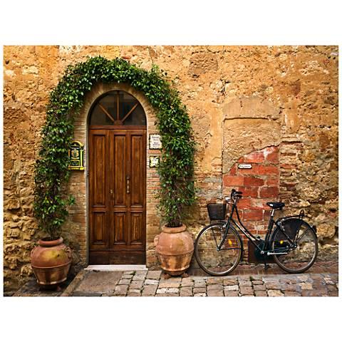 """Bicletta 40"""" Wide All-Weather Indoor-Outdoor Wall Art"""