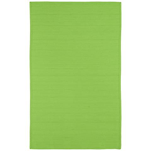 Kaleen Bikini 3020-96 Lime Green Outdoor Area Rug