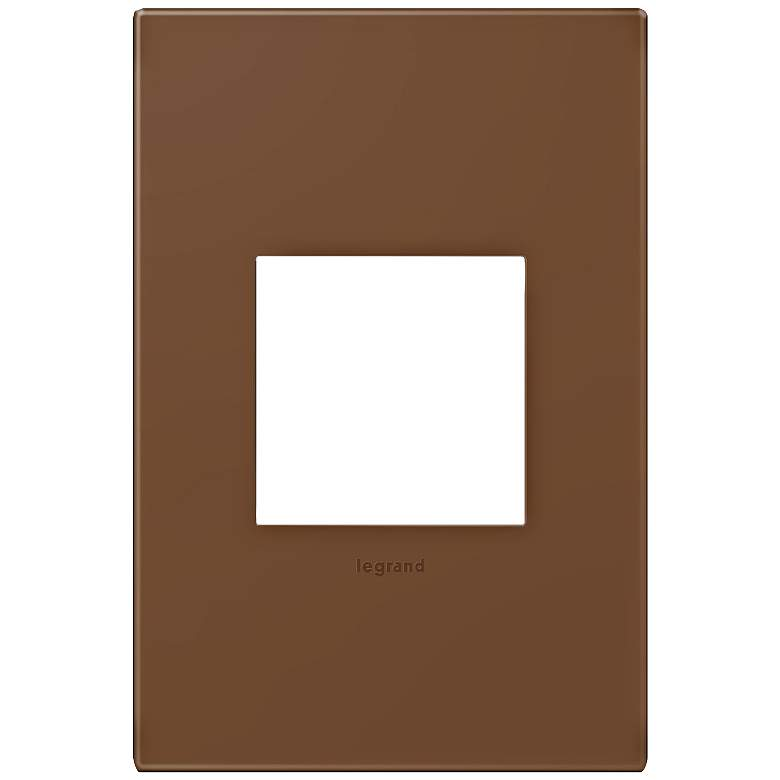 adorne® Cappuccino 1-Gang Snap-On Wall Plate
