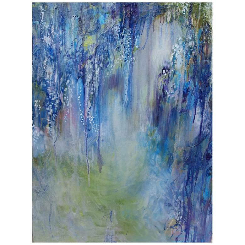 "Rhapsody In Blue 40""H All-Weather Indoor-Outdoor Wall Art"