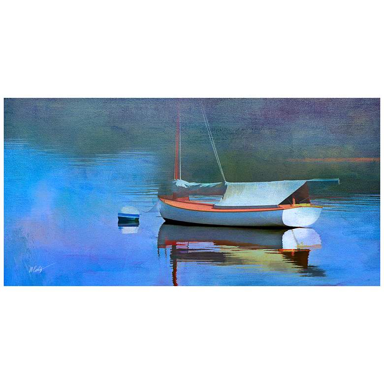 "Blue Reflections 48""W All-Weather Indoor-Outdoor Wall Art"
