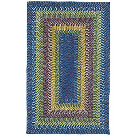 Kaleen Bimini 3010-86 Multi-Color Blue Outdoor Area Rug