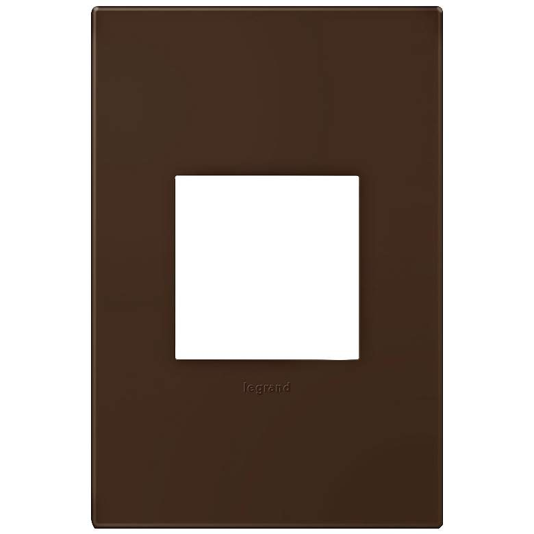 adorne® Truffle 1-Gang Snap-On Wall Plate