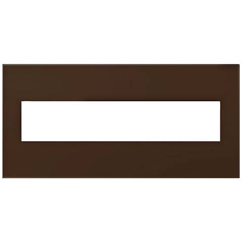 adorne® Truffle 5-Gang Snap-On Wall Plate
