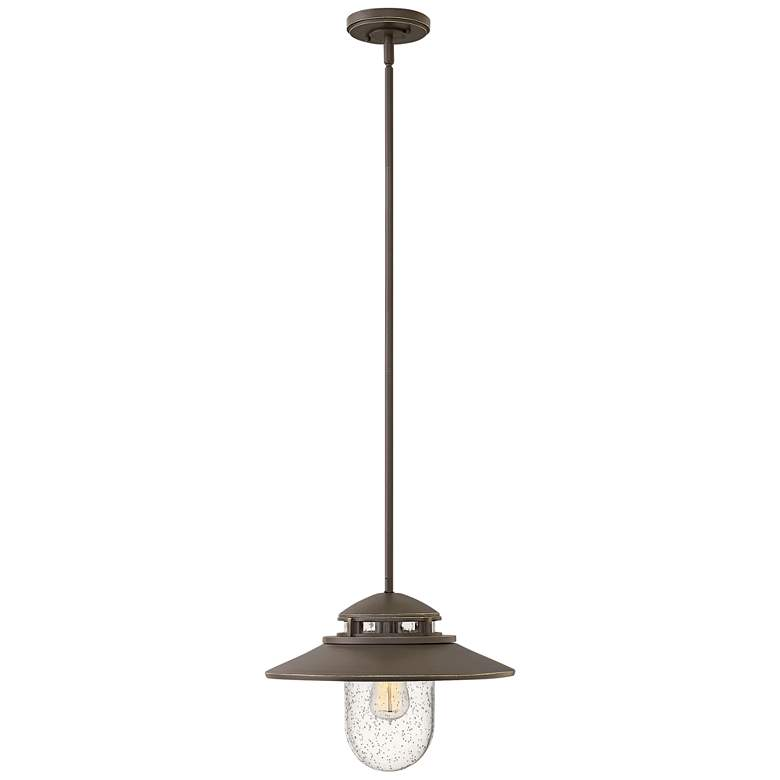 "Atwell 11"" High Oil Rubbed Bronze Outdoor Hanging"