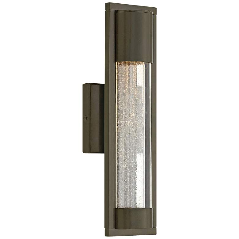 "Hinkley Mist 15 1/2"" High Bronze Outdoor Wall Light"