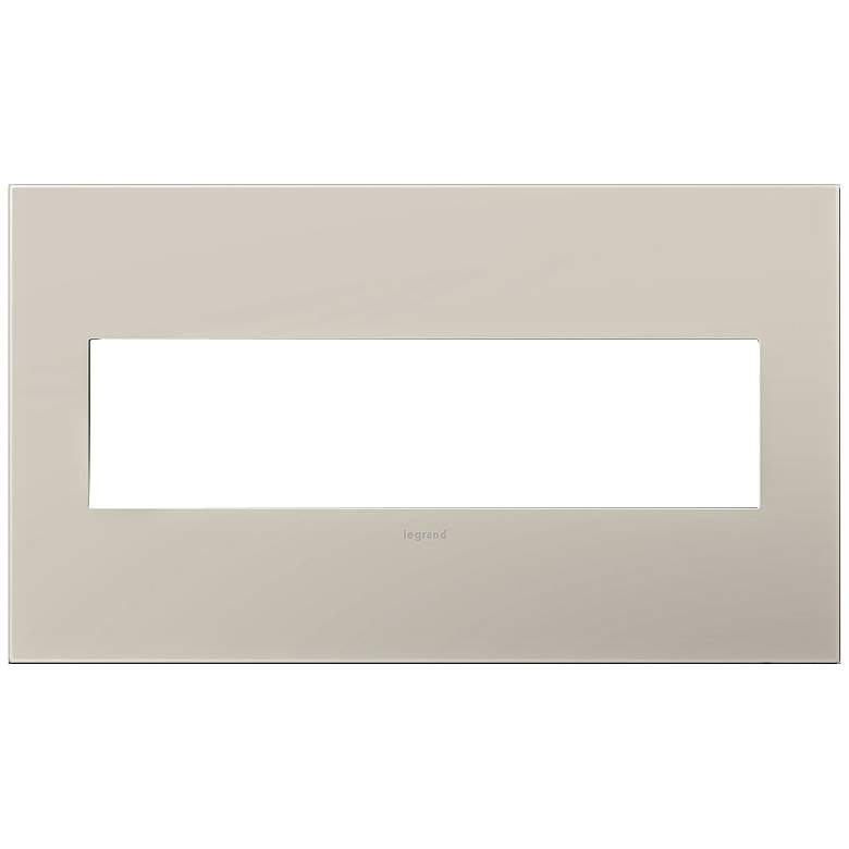 adorne® Greige 4-Gang Snap-On Wall Plate