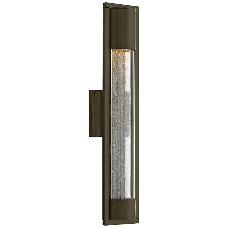 "Hinkley Mist 22"" High Bronze Outdoor Wall Light"