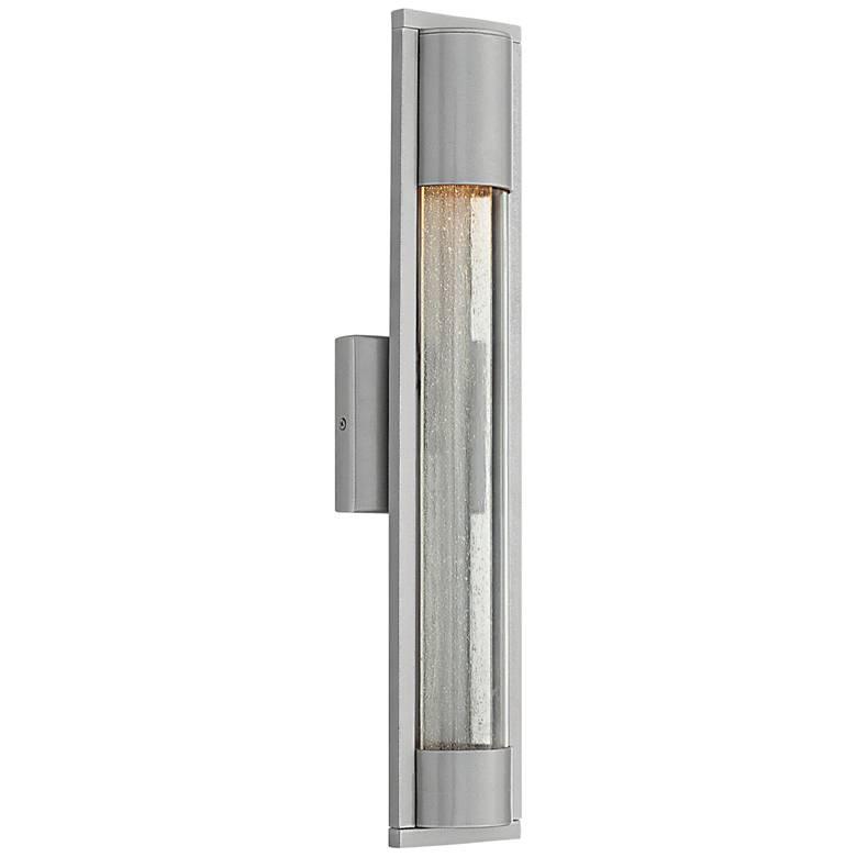 "Hinkley Mist 22"" High Titanium Outdoor Wall Light"