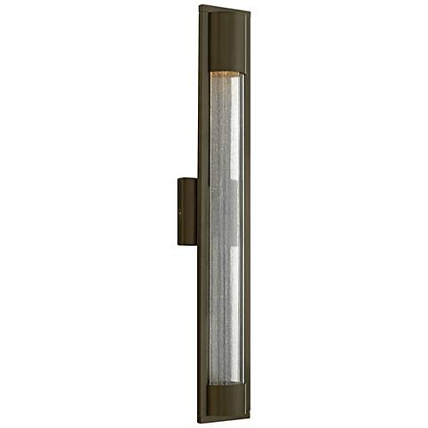 "Hinkley Mist 28 1/2"" High Bronze Outdoor Wall Light"
