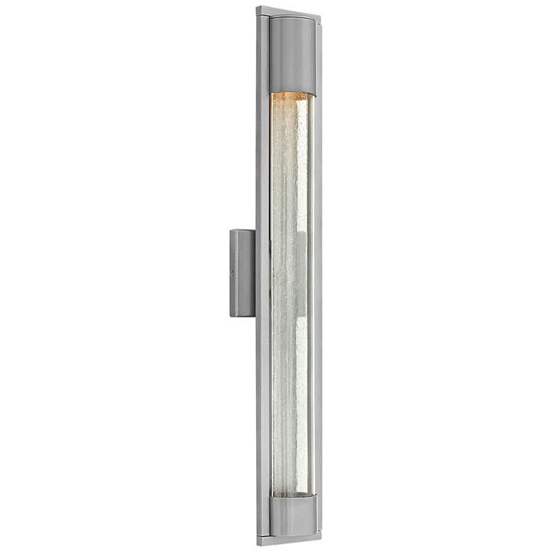"Hinkley Mist 28 1/2"" High Titanium Outdoor Wall Light"