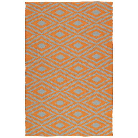 Kaleen Brisa BRI02-89 Orange Outdoor Area Rug