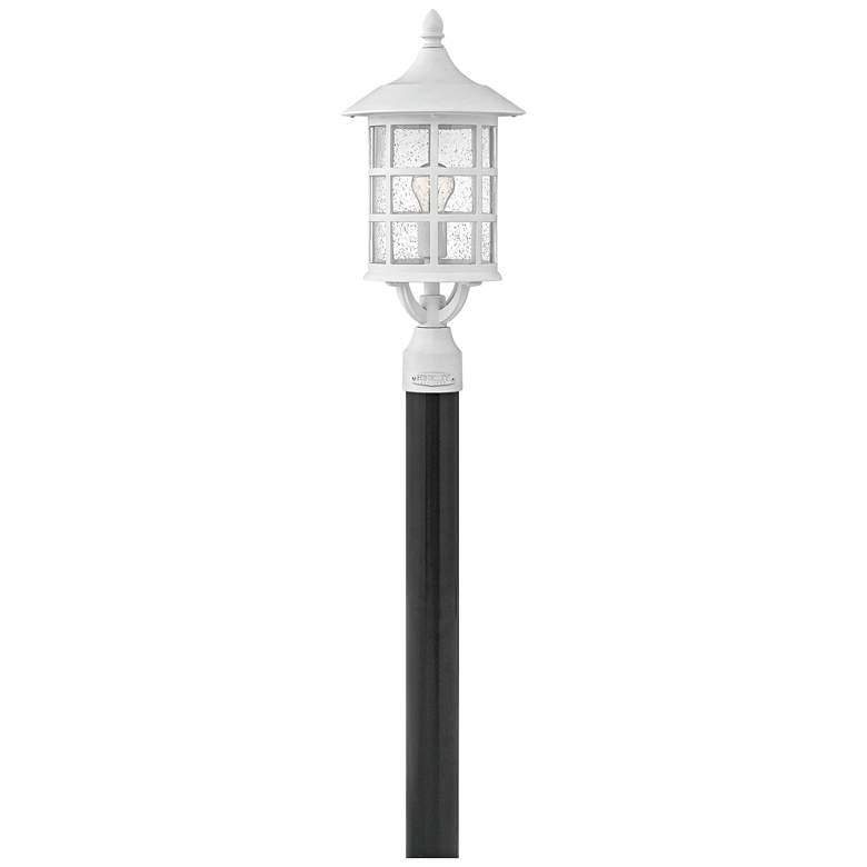 "Hinkley Freeport 20 1/4""H Classic White Outdoor Post"