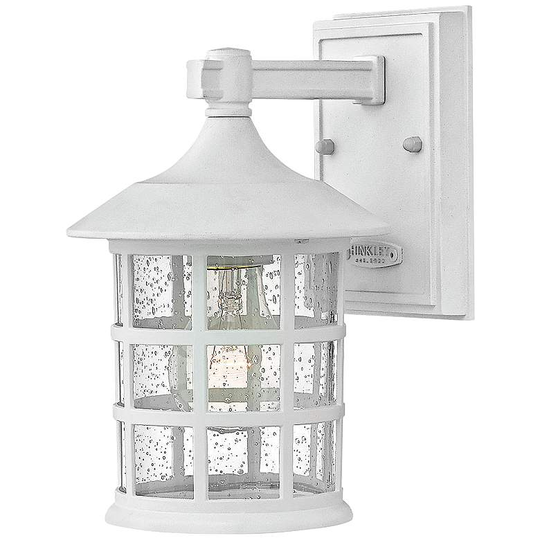 "Freeport 9 1/4"" High Classic White LED Outdoor"